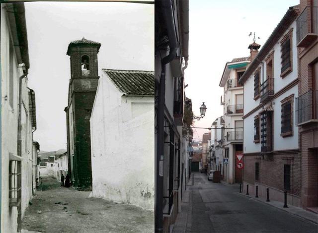 Iglesia de San Isidro, ayer y hoy.