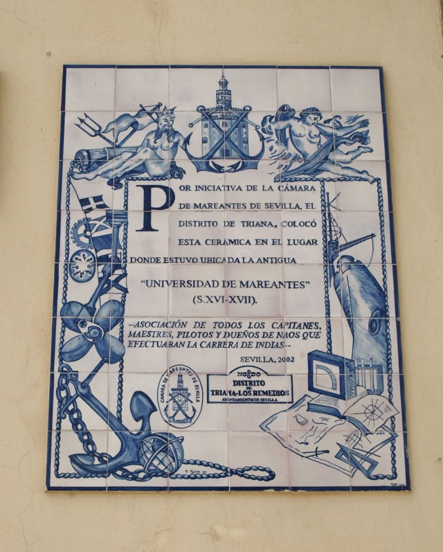Azulejo Universidad de Mareantes